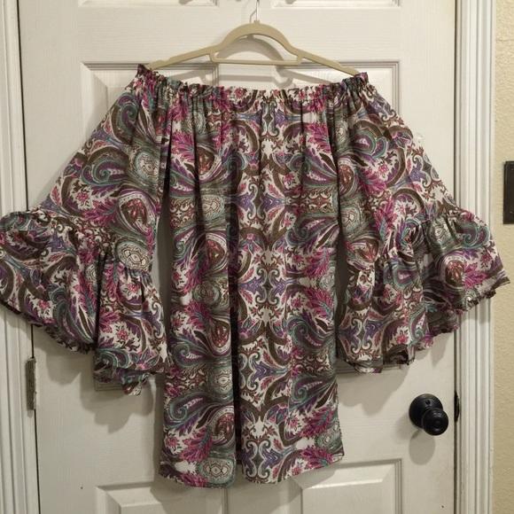 Elan Dress Can Be Worn Off Shoulder Size Medium